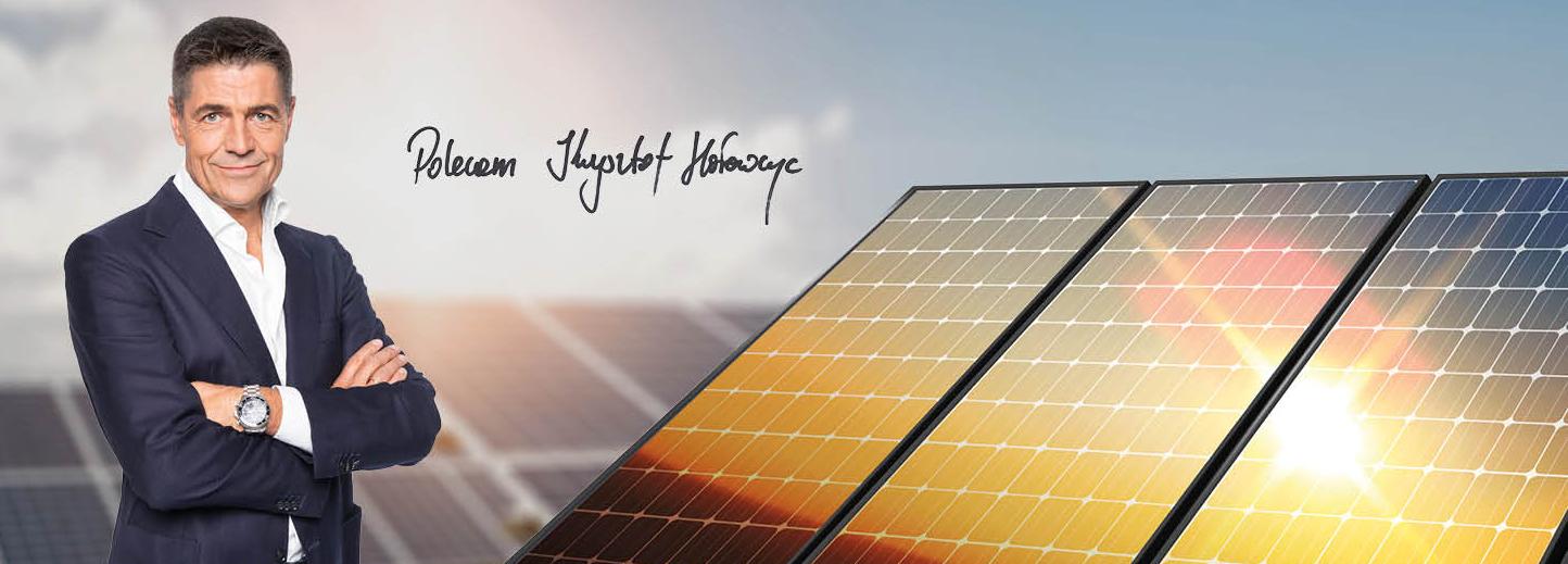 Krzysztof Hołowczyc - Poleca FG Energy - Zakup i montaż paneli fotowoltaicznych